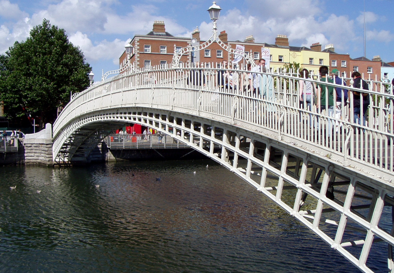 dublin bridge river