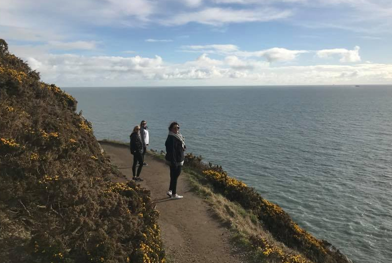 Howth Cliff Walking